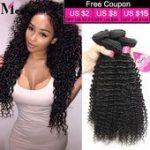 Grade 8A Curly Virgin Hair Brazilian Unprocessed Hair ...- Grade 8A Lockiges Rei...