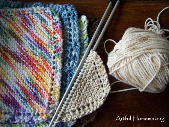 Grandmother's Favorite Dishcloth Knitting Pattern