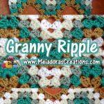 Granny Ripple Crochet Stitch - Free Crochet Pattern and Tutorial