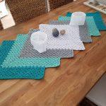 Granny Square Tischläufer
