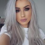 Gray Salt N Pepper Half Wigs