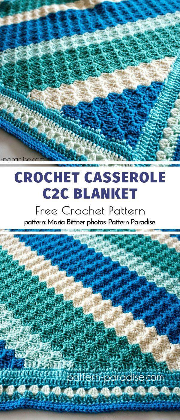 Great C2C Baby Blankets Free Crochet Patterns