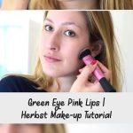 Green Eye Pink Lips | Herbst Make-up Tutorial