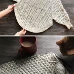 Große Kurven stricken Poncho - kostenlose Muster (schöne Fähigkeiten - Häkeln Stricken Quilte...