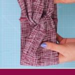 Haarband in 10 Minuten nähen aus Stoffresten