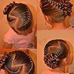 Haare weben   - Kız Saç Modelleri - girl hair styles #Geflochtene Frisuren #Fr...