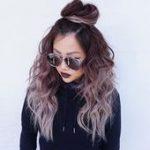 Haarfärbemittel Ideen bunt Schokolade lila Haare Diese Haarfarbe ist so süß