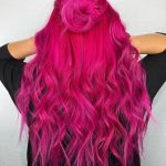 Haarfarbe Mode, rosa Haarfarbe Trends 2019 frisurentrends  frisurenwelt  2019