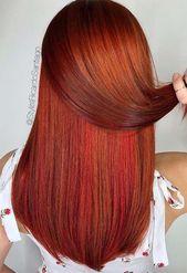 Haarfarbtöne in Kupfer: Tipps für Haarfärbemittel in Kupfer #Kupferhaar #Haar…