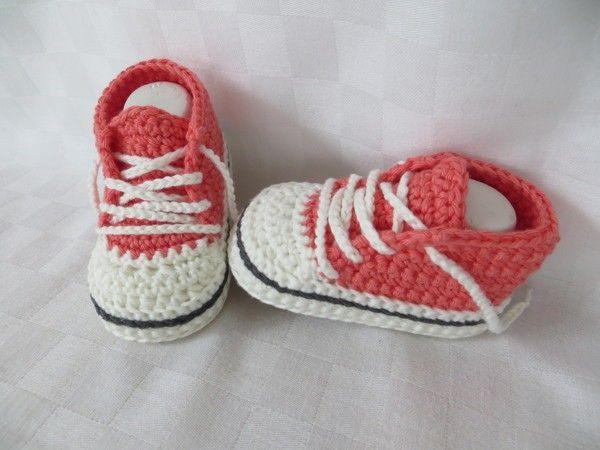 Häkelanleitung für Baby-Turnschuhe (#2)