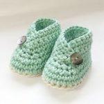 Häkeln Muster Baby Booties Schuhe Unisex: jungen oder von ketzl - Häkeln - #Ba...