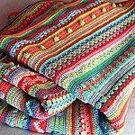 Häkeln Sie afghanische Muster
