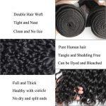 Hair 3 Bundles Wet And Wavy Brazilian Water Wave Virgin Human Hair Weave Extensions