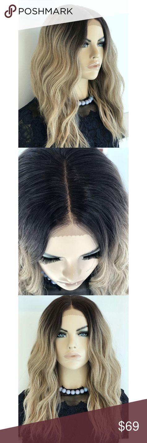 Hair balayage dark roots ash blonde 58+ Ideas for 2019 #ashblondebalayage Hair b…