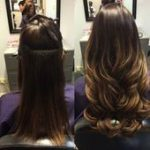 Hair extensions before and after | Glam Seamless Hair Extensions #after #before ...