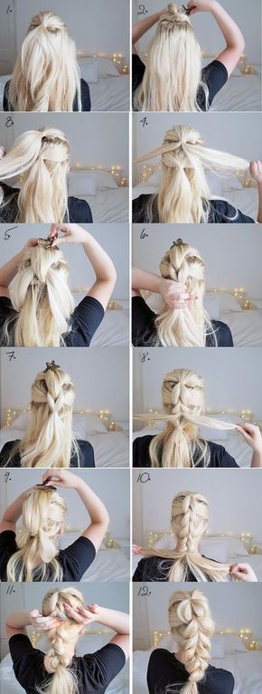 Hairstyle // Hairstyles you can do in just 3 minutes. Perfect for women who's always on the go. #ad – New Site