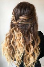 Half Up Half Down Prom Hairstyles Youll fall in love with ★ See … – Prom Fri…