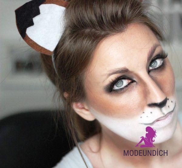 Halloween Transformation: niedliche Fuchs Make-up Ideen  –  #Fuchs #Halloween #I…