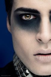 Halloween make-up ideas for a horrifying male sex- halloween make-up halloween m…