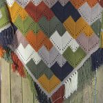 Hand knitted shawl- handmade shawl - knitted shawls - boho shawl - knit shawls -...