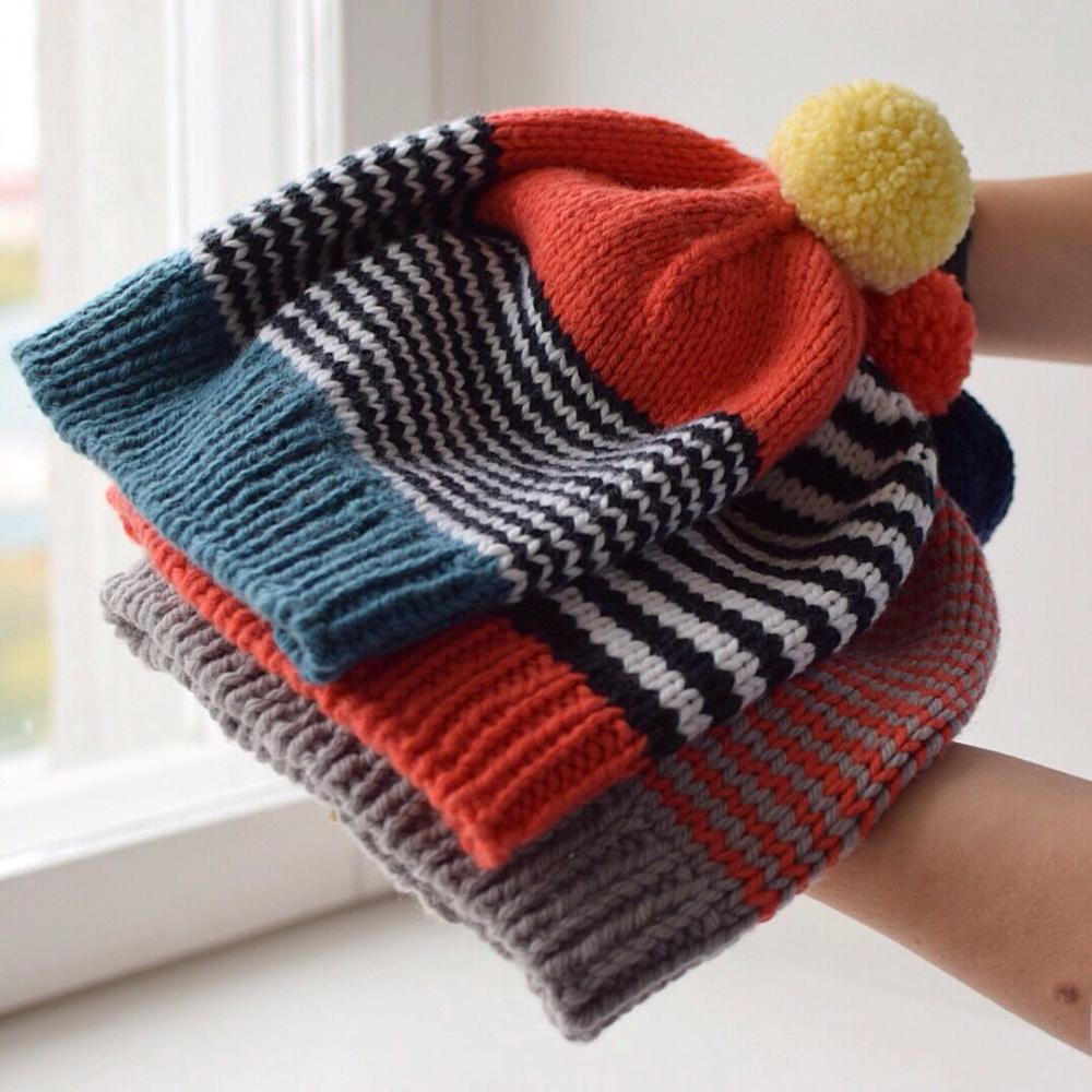 Handknit woolen unisex hats. #bonnets – loveit