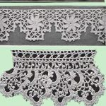 Heirloom Crochet - Vintage Patterns and Instructions - Crochet Edgings and Inser...