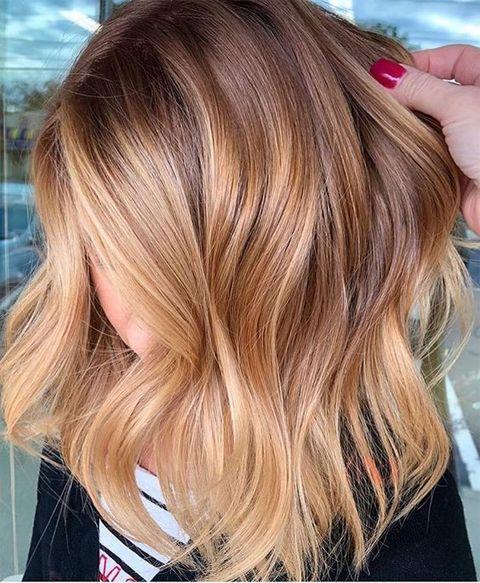 Hellbraune Haarfarbe Ideen für den Sommer 2019 – Hair Colors – #Colors #den