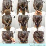 Hochsteckfrisuren für lange, feine Haare