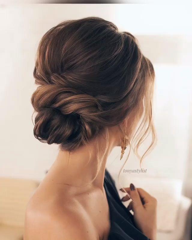 #Hochzeit #Frisuren #Brauthaar #Hochzeitshaar #Braut