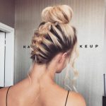 Homecoming Hairstyle Ideas-Updo Hairstyles For Prom Night Blonde Braided Hairstyes