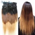 Hot Remy Brazilian Virgin Hair Clip In Hair Extensions ...- Hot Remy Brasilianis...
