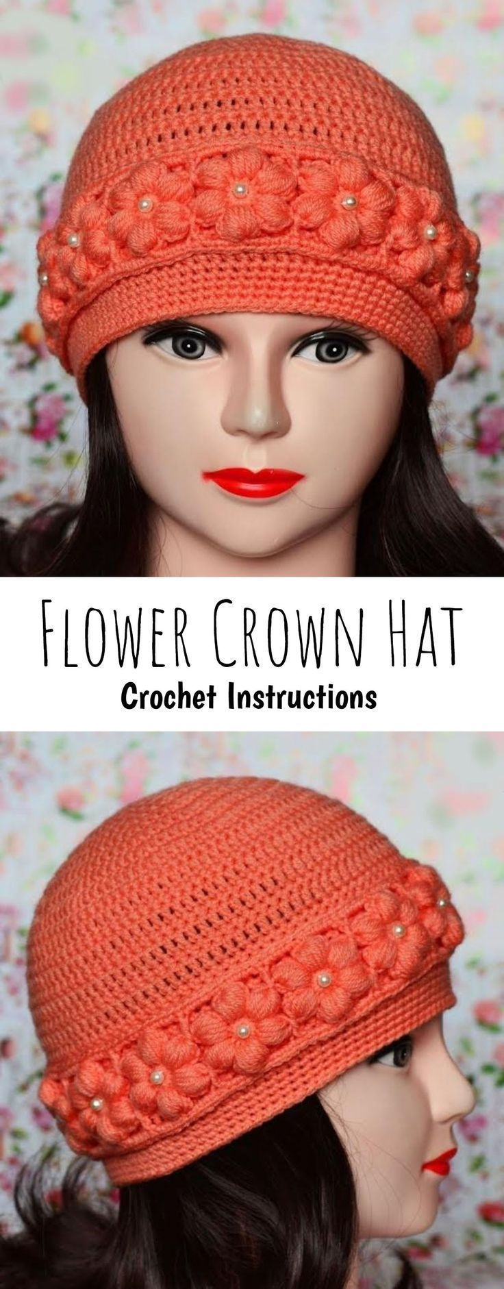 Hottest Snap Shots Crochet Flowers crown Style If you realise the way to crochet…