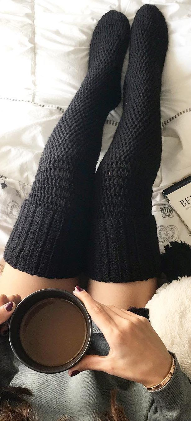 How To 32 Free Patterns to Make Crochet Leg Warmers – Page 23 of 31