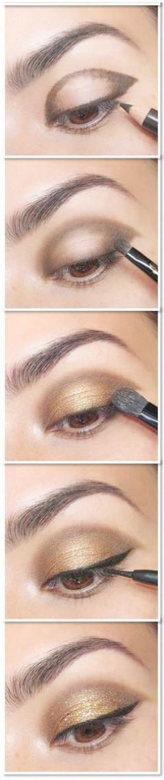 How To Put On Eye Makeup Natural Look, Natural Eye… Wie man Augen Make-up auft…