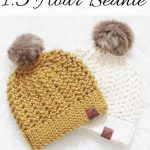 How to Crochet a Beanie, 1.5 Hour Chunky Hat - Crochet Dreamz
