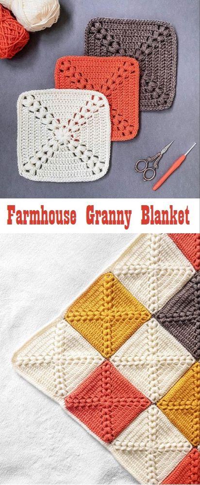 How to Crochet a Farmhouse Granny