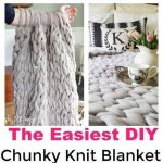 How to Make a Chunky Knitted Blanket: Knitting Blankets with Arms or Needles