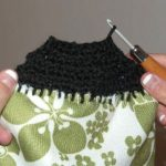 How to crochet hand towel toppers