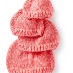 How to knit hats for babies - free knitting patterns - cute gift ideas for a bab
