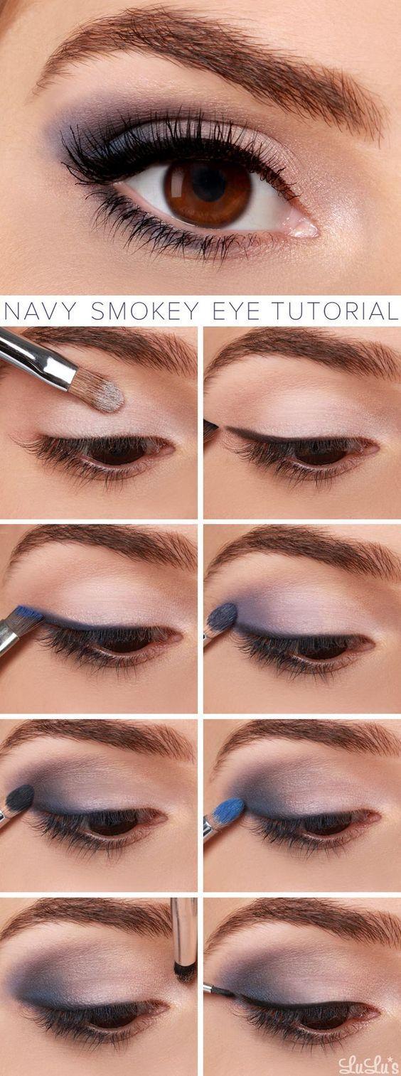 Hur man navigerar Smokey Eye Makeup Tutorial