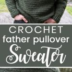 Husband-Approved Free Crochet Sweater Patterns