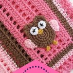 If you crochet and love to give gifts, you can't go wrong with this Baby Owl Bla...
