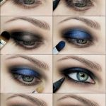 In 3 Minuten schaffen dass perfekte metallische Smokey Augen Sie immer gesucht #...
