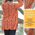 In the Forest of the Night Cardi - FREE Crochet Pattern