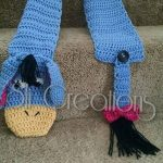 Inspired by Eeyore Scarf Crochet pattern by Sli Creations Designs | Knitting Patterns | LoveKnitting