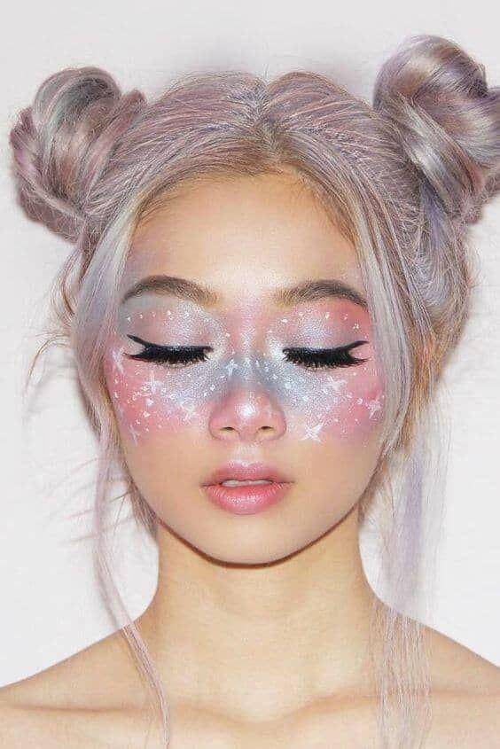 Iridescent Pastel Ombre Mask #BeautyTipsForAcne