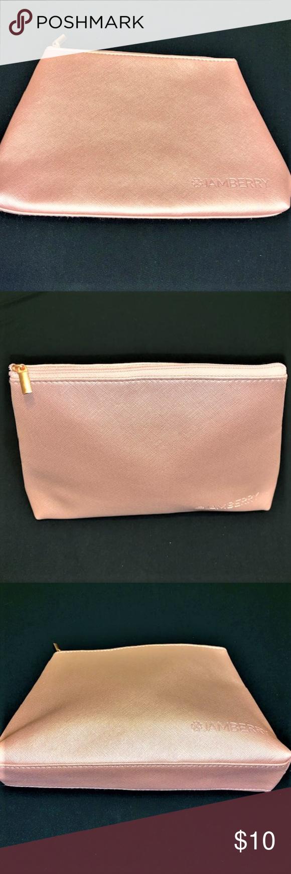 JAMBERRY-Kosmetik-Reise-Tasche NWOT Color – Blush-Pink-Größe – OS Süß und Ed…