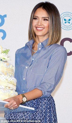 Jessica Alba launches the Honest Company in South Korea | Daily Mail Online – #A…