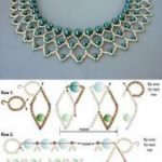 KOSTENLOSES Perlenmuster für Pearl Petals Halskette - Diy Schmuck - #DIY #für ...