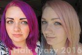 Katie's Direct Dye Fading Treatment – #aschblondhaare #blondehaare #braunhaare #…